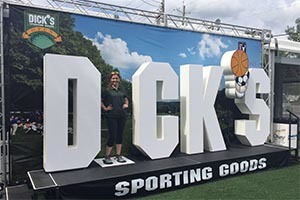 Dicks Large Foam Letters Display