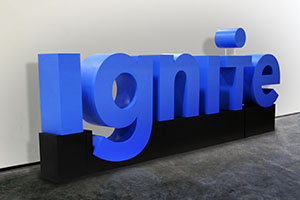 ignite Large Foam Letters Display