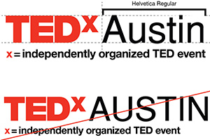 Style requirements for TEDx Letters