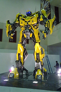 Video Game model of a Large Robot